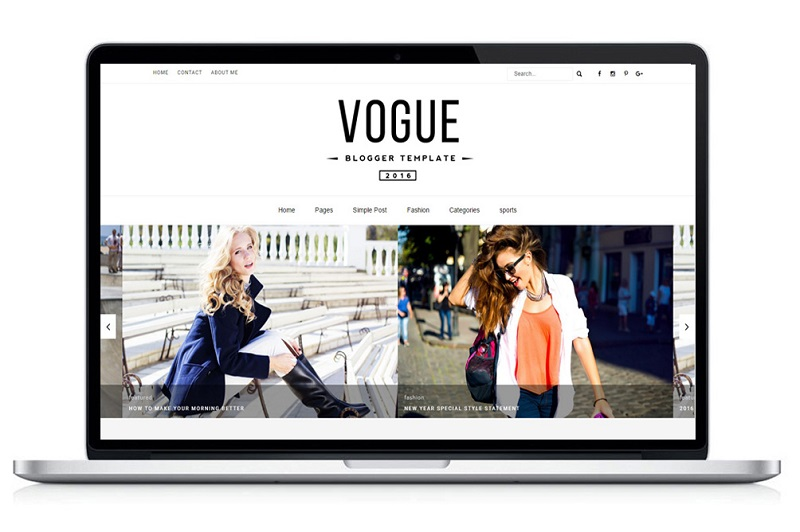 vogue-blogger-template image mac